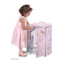 Armoire pour Poupées en Bois Magic María De Cuevas Toys 55234 | De Cuevas Toys