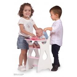 Chaise Haute pour Poupées en Bois Martín De Cuevas Toys 55429 | De Cuevas Toys