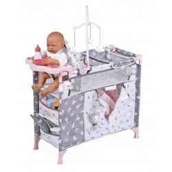Armoire Table à Langer de Poupées Pliable Sky De Cuevas Toys 53035