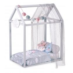 Lit Petite Maison de Poupée en Bois Martín DeCuevas Toys 54929