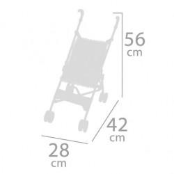 Poussette pour Poupées Pliante Chaise De Cuevas Toys 90096 | De Cuevas Toys
