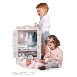 Armoire en Bois pour Poupées Sky DeCuevas Toys 54035 | DeCuevas Toys