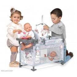 Berceau Aire de Jeux Table à Langer de Poupée Martín DeCuevas Toys 53129 | DeCuevas Toys