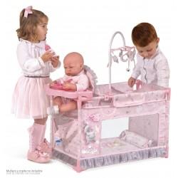 Berceau Aire de Jeux Table à Langer Petit de Poupées Magic María De Cuevas Toys 53134 | De Cuevas Toys