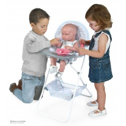 Chaise Haute Pliante de Poupée Martín De Cuevas Toys 53229 | De Cuevas Toys
