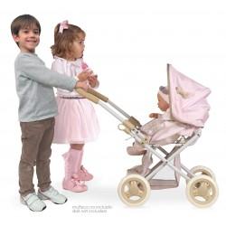Chariot et Chaise de Poupée 3x1 Pliant Didí DeCuevas Toys 85143 | DeCuevas Toys