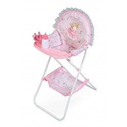 Chaise Haute Pliante de Poupée Magic María DeCuevas Toys 53234
