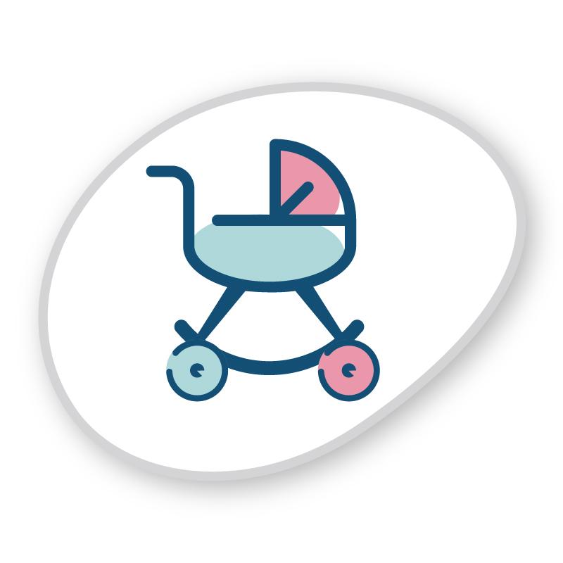 Chariot de poupée
